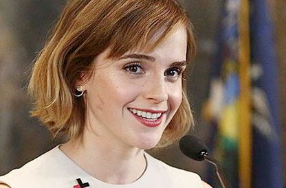 Actress-turned-activist Emma Watson